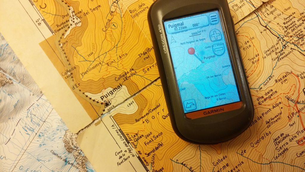 Tastet de GPS